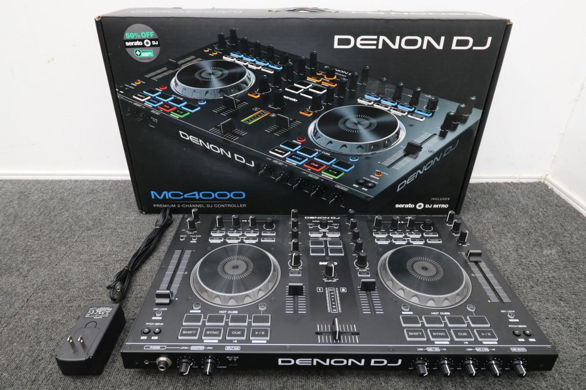 DENON デノン DJ MC4000 Serato DJ対応 2デッキ DJコントローラー