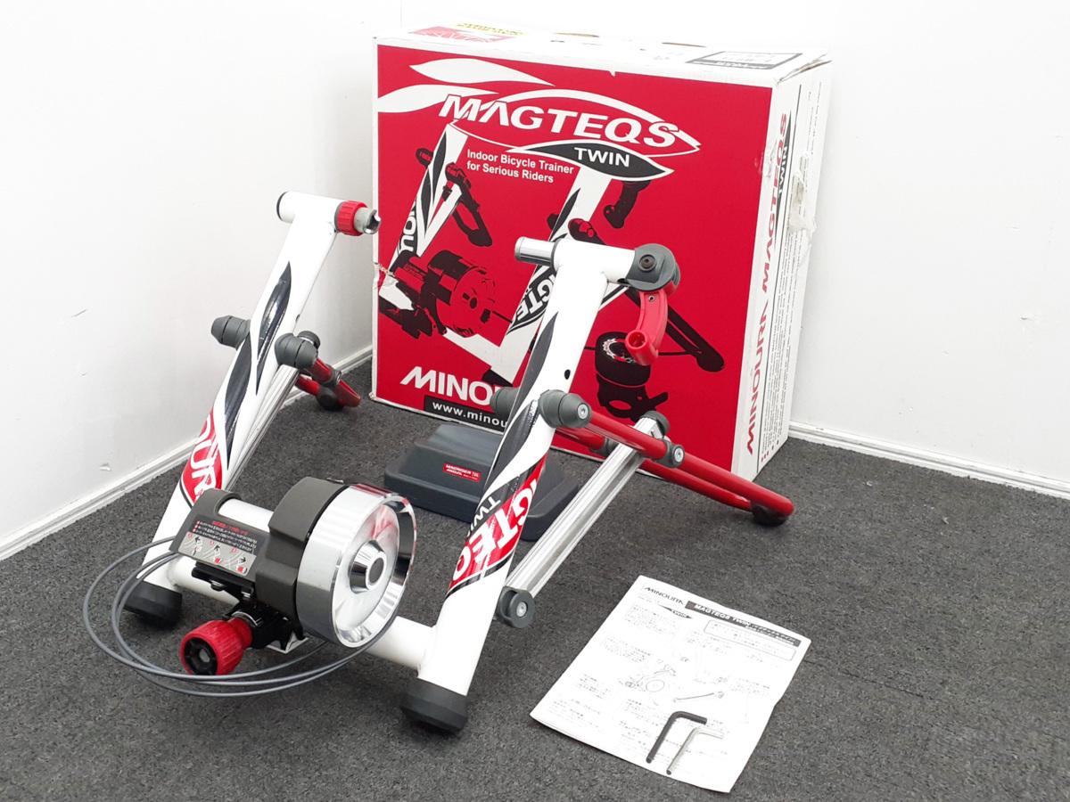MINOURA ミノウラ MagteqsTwin マグテックスツイン 固定ローラー 加圧量調整可能 ロードバイク サイクルトレーナー