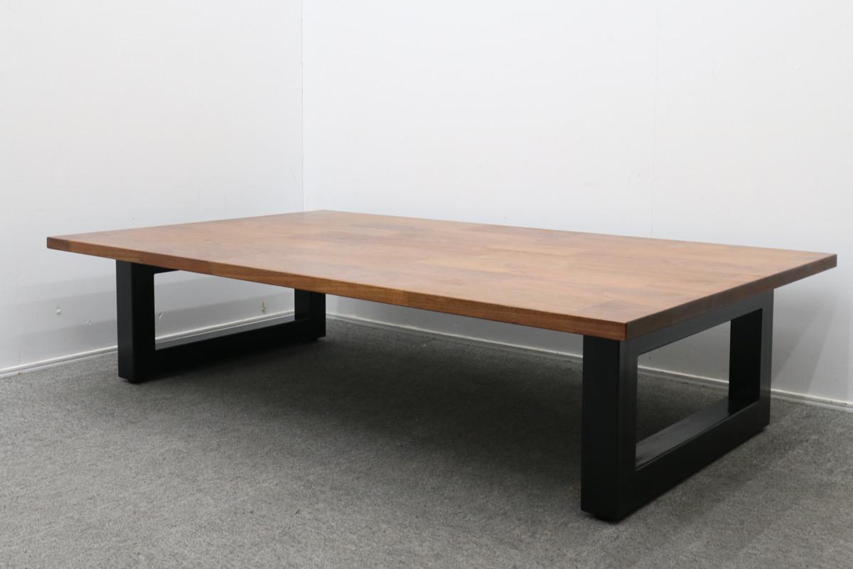 MASTERWAL マスターウォール WILDWOOD THICK41 LIVING TABLE ワイルドウッドシック41 リビングテーブル ブラックチェリー