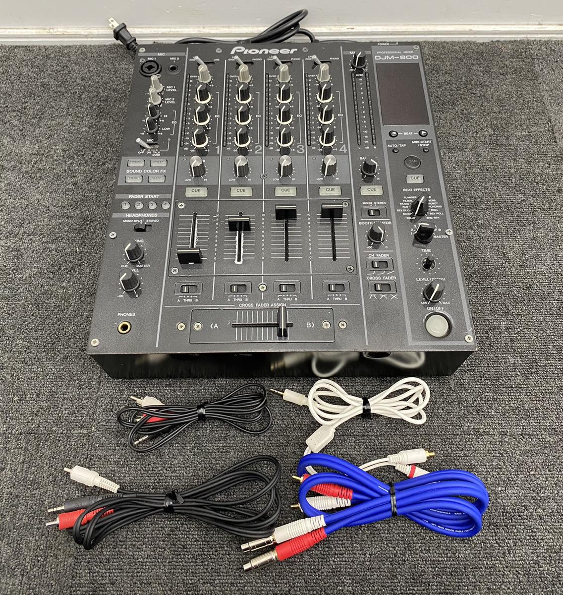 Pioneer パイオニア プロフェッショナルミキサー DJM-800